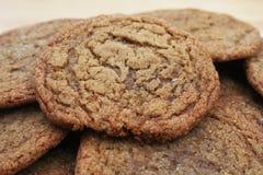 Biscuits de sucre de mélasse Image libre de droits