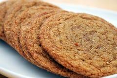 Biscuits de sucre de mélasse Images libres de droits