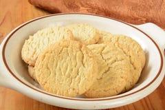 Biscuits de sucre gratuits de gluten Image stock