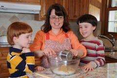 Biscuits de traitement au four Photo libre de droits