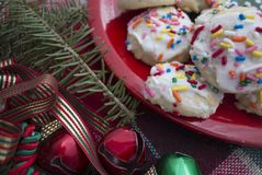 Biscuits de vacances Photographie stock libre de droits