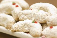 Biscuits de vacances Images libres de droits