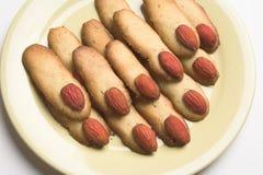 Biscuits de Veille de la toussaint Photographie stock libre de droits