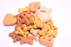 Biscuits for dogs Royalty Free Stock Photography