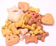 Biscuits for dogs Royalty Free Stock Photos