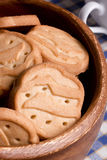 Biscuits from dough Royalty Free Stock Photography