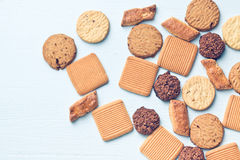 Biscuits doux Images stock