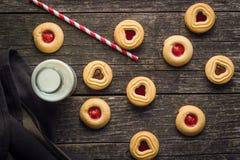 Biscuits doux de gelée Image stock