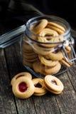 Biscuits doux de gelée Photographie stock libre de droits