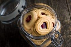 Biscuits doux de gelée Photographie stock
