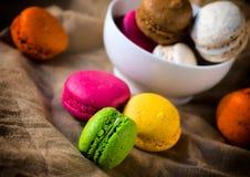 Biscuits doux savoureux images stock