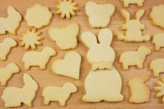 Biscuits for easter Royalty Free Stock Photos
