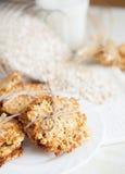 Biscuits effectués flocons d'avoine d'ââfrom Image libre de droits