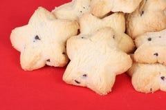 Biscuits en forme d'étoile Photographie stock