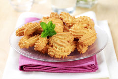 Biscuits en forme de s image stock
