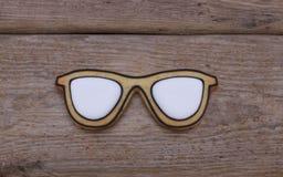 Biscuits en verre Photographie stock libre de droits