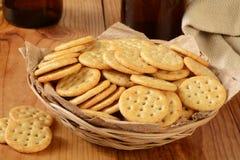 Biscuits et bière Images libres de droits