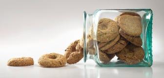 Biscuits et biscuits photographie stock