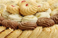 Biscuits et biscuits, foyer sélectif Photo stock
