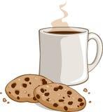 Biscuits et cacao Photo libre de droits