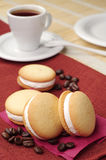 Biscuits et café Images stock