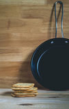 Biscuits et casserole Images libres de droits