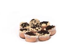 Biscuits et crème Image libre de droits