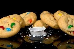 Biscuits et crème Photos libres de droits