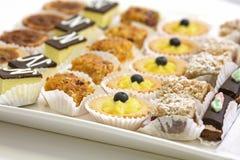 Biscuits et pâtisserie assortis Photo libre de droits
