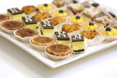 Biscuits et pâtisserie assortis Photo stock