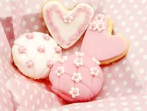 Biscuits et petits gâteaux Photographie stock