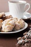 Biscuits et thé photo libre de droits