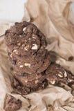 Biscuits faits frais Photographie stock