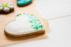 Biscuits faits maison faits maison Photos stock