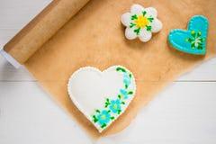 Biscuits faits maison faits maison Photo stock