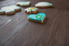 Biscuits faits maison faits maison Images stock