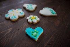 Biscuits faits maison faits maison Images libres de droits