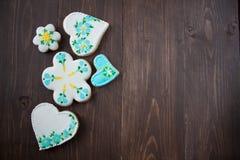 Biscuits faits maison faits maison Photo libre de droits