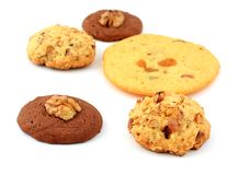 Biscuits faits maison Images stock