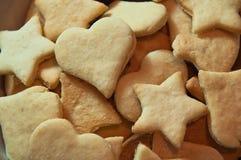Biscuits faits maison Image libre de droits
