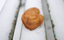Biscuits faits maison Image stock