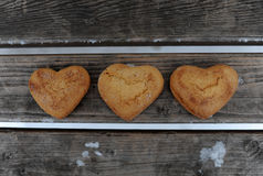 Biscuits faits maison Photographie stock