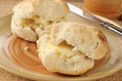 Biscuits faits maison délicieux Photos stock