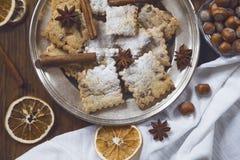 Biscuits faits maison images libres de droits