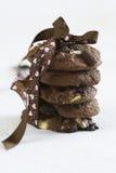 Biscuits faits maison de chocolat Photos libres de droits