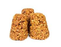 Biscuits faits maison de miel Photos libres de droits
