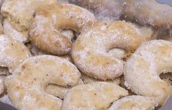 Biscuits faits maison de Noël Images stock