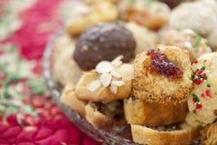 Biscuits faits maison de Noël Image libre de droits