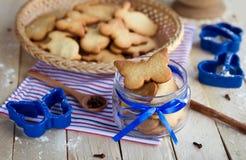 Biscuits faits maison de Pâques photo stock