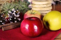 Biscuits faits maison de vacances Photo stock